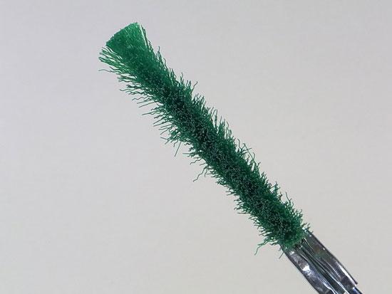 盆栽 幹掃除ブラシ ナイロン
