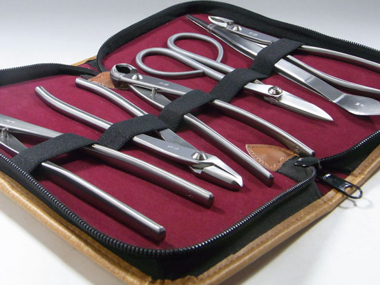 Bonsai tool set stainless made in Japan Kaneshin