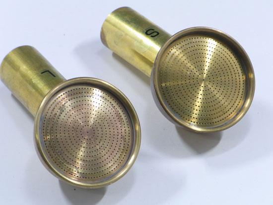 盆栽用真鍮散水ノズル リム(ガード)付き