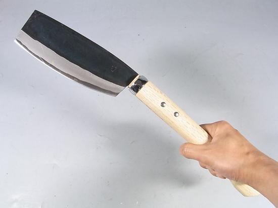 手打ち 鉈 両刃