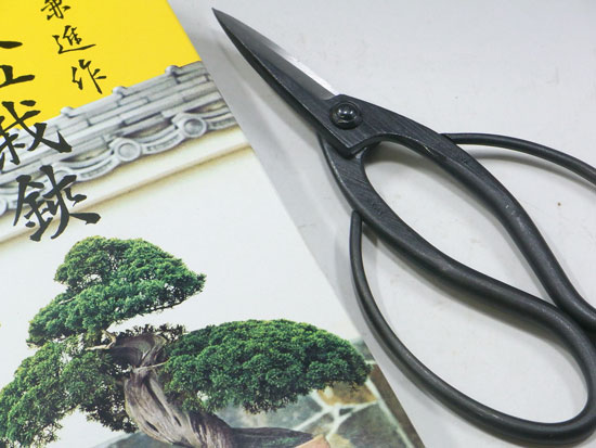 Bonsai scissors , root cut scissors , made in Japan , Kaneshin