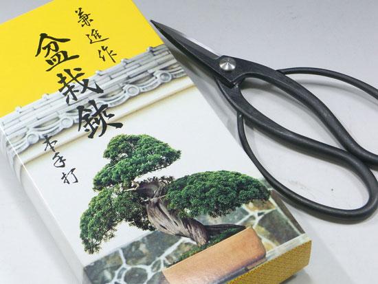 盆栽鋏 兼進 かねしん 青鋼 青紙 日本製