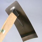 文化鍬 コブ付 全長 92cm / 刃渡り 15.5cm No.5209