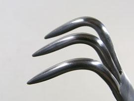盆栽 ステンレス 熊手 3本爪