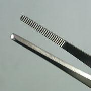 盆栽 ステンレス 外科医用ピンセット 180mm No.64A