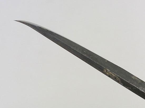 盆栽 ジン・シャリ彫刻刀 反り刃 右