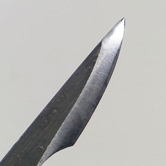 盆栽 ジン・シャリ作り彫刻刀 反り刃 右
