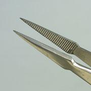 盆栽道具 ピンセット (兼進作) 矢型 全長170mm NO.661