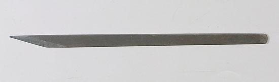 小品盆栽用 接ぎ木刀 青鋼