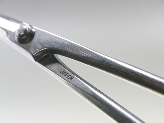 Bonsai stainless scissors made in Japan , Kaneshin
