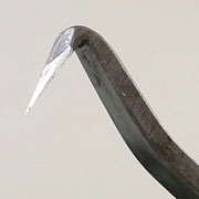 盆栽道具 神・舎利作り彫刻刀 (三木章作) No.8716