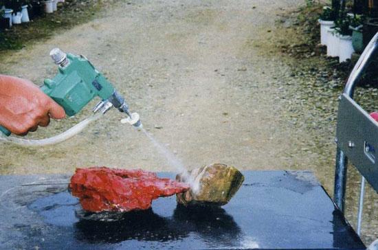 水石洗浄器 スプレーガン