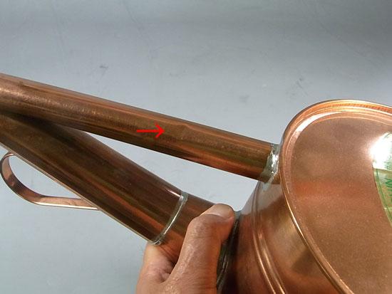 盆栽 銅製ジョーロ