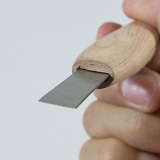 盆栽道具 彫刻刀 平刀 ハイス鋼