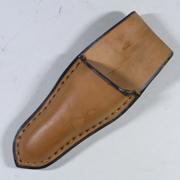 【在庫限り】靴職人が作った手造り芽切(摘果)鋏ケース 165mm用