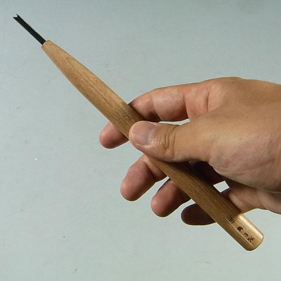 盆栽 彫刻刀 三角刀 ハイス鋼