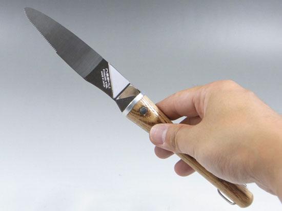 Re-potting knife for bonsai